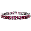 Ruby Glass Filled:Oval/4x3mm 76/16.72 ctw #28013v3