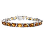 Citrine:Cushion/7x5mm 24/20.88 ctw #27955v3