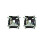 Amethyst Green:Square/10.00mm 2/9.00 ctw #28071v3