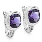 Amethyst:Cushion/10.00mm 2/7.10 ctw #28141v3