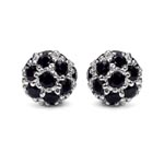 Black Spinel:Round/2.10mm 42/1.68 ctw #28090v3