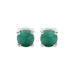 Emerald:Round/6.00mm 2/1.58 ctw #28131v3