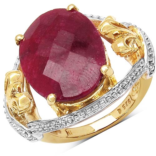 Ruby:Oval/18x13mm 1/12.50 ctw #29629v3