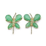 Emerald:Pears/5x3mm 4/1.00 ctw + Emerald:Marquise/4x2mm 4/0.28 ctw #28097v3