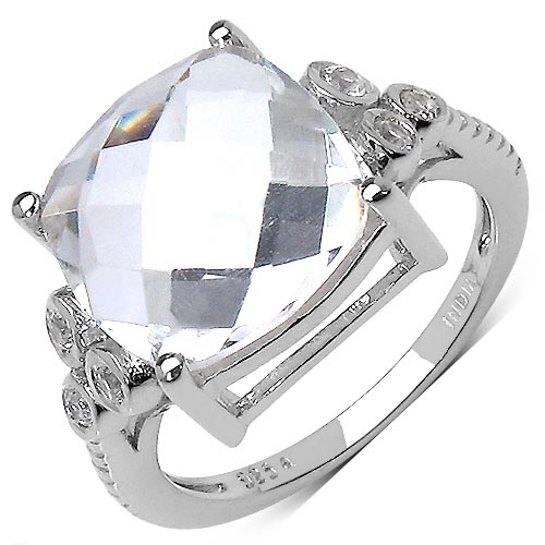 Quartz Crystal:Round/1.80mm 6/0.18 ctw #29625v3