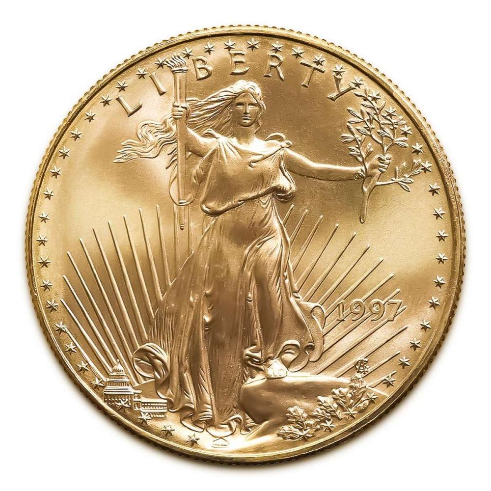 1997 American Gold Eagle 1oz Uncirculated #IRS24983