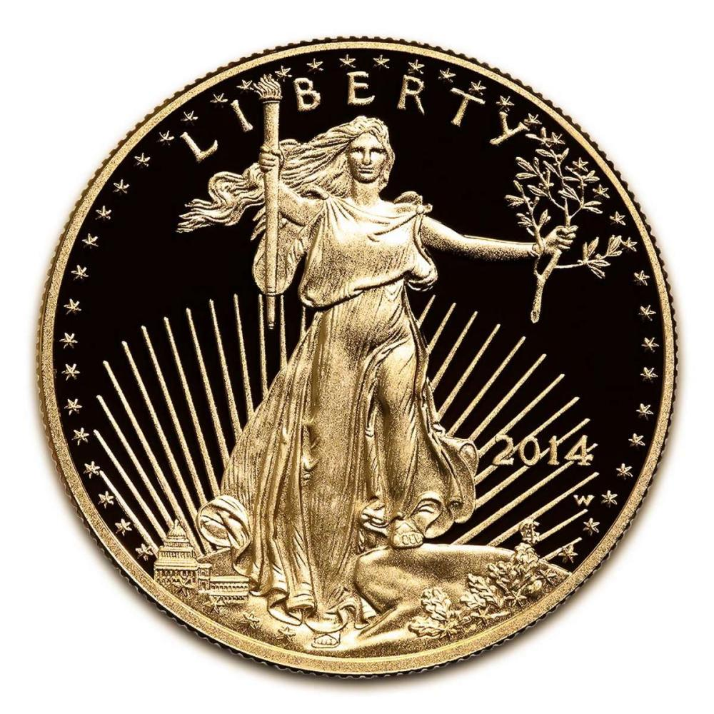 Proof American Gold Eagle Half Ounce - In Capsule (Dates Our Choice) #IRS24996