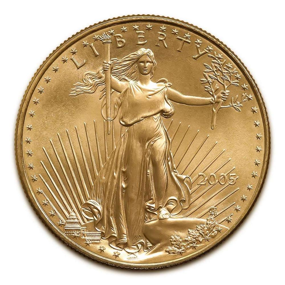 2005 American Gold Eagle 1/2 oz Uncirculated #IRS25012