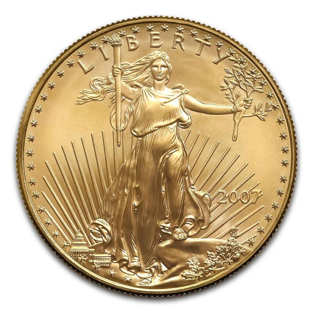 2007-W American Gold Eagle 1oz Uncirculated #IRS24971