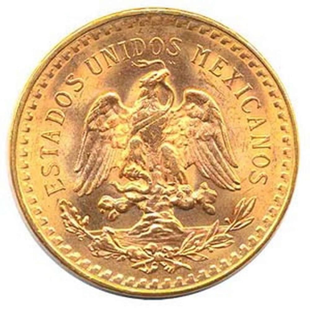 Mexico 50 Pesos Gold Coin #IRS25029