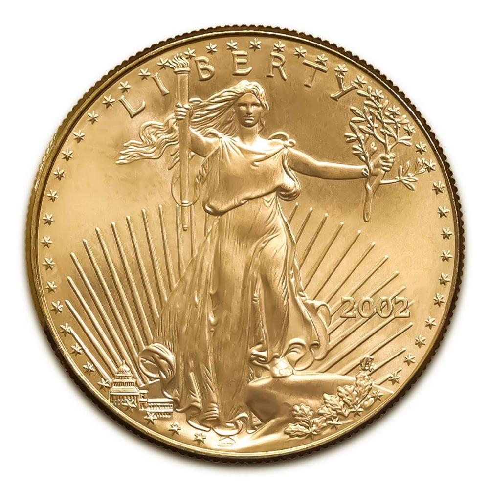 2002 American Gold Eagle 1/2 oz Uncirculated #IRS25015