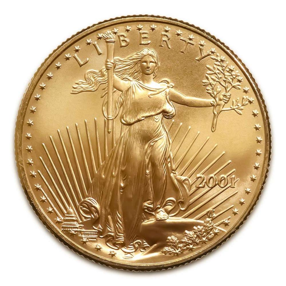 2001 American Gold Eagle 1oz Uncirculated #IRS24979