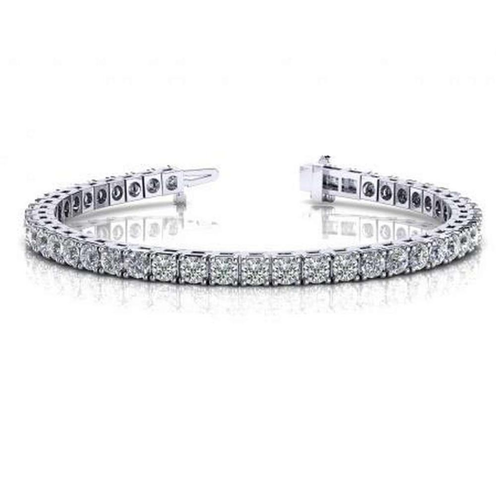 14K WHITE GOLD 2 CTW G-H VS2/SI1 CLASSIC FOUR PRONG DIAMOND TENNIS BRACELET #IRS19923