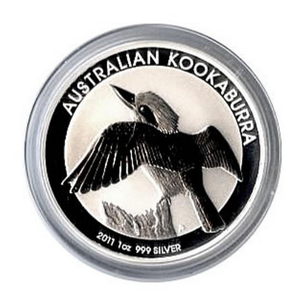 Australian Kookaburra 1 oz. Silver 2011 #IRS81313