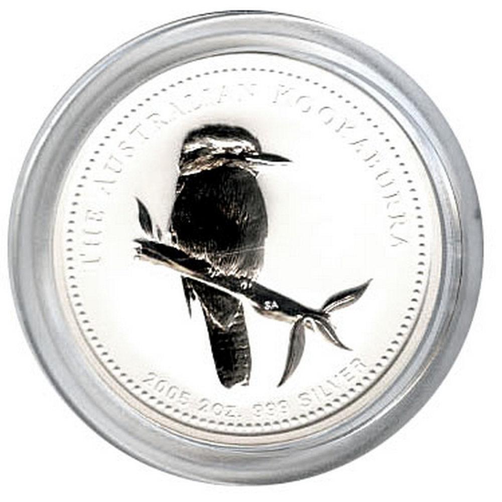 Australian Kookaburra 2 oz. Silver 2005 #IRS81314