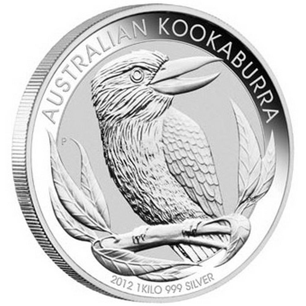 Australian Kookaburra Kilo Silver 2012 #IRS81422