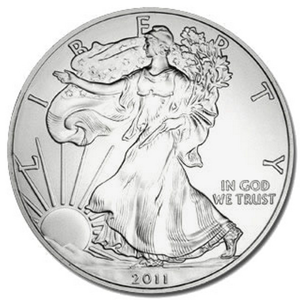 2011 1 oz Silver American Eagle BU #IRS81288