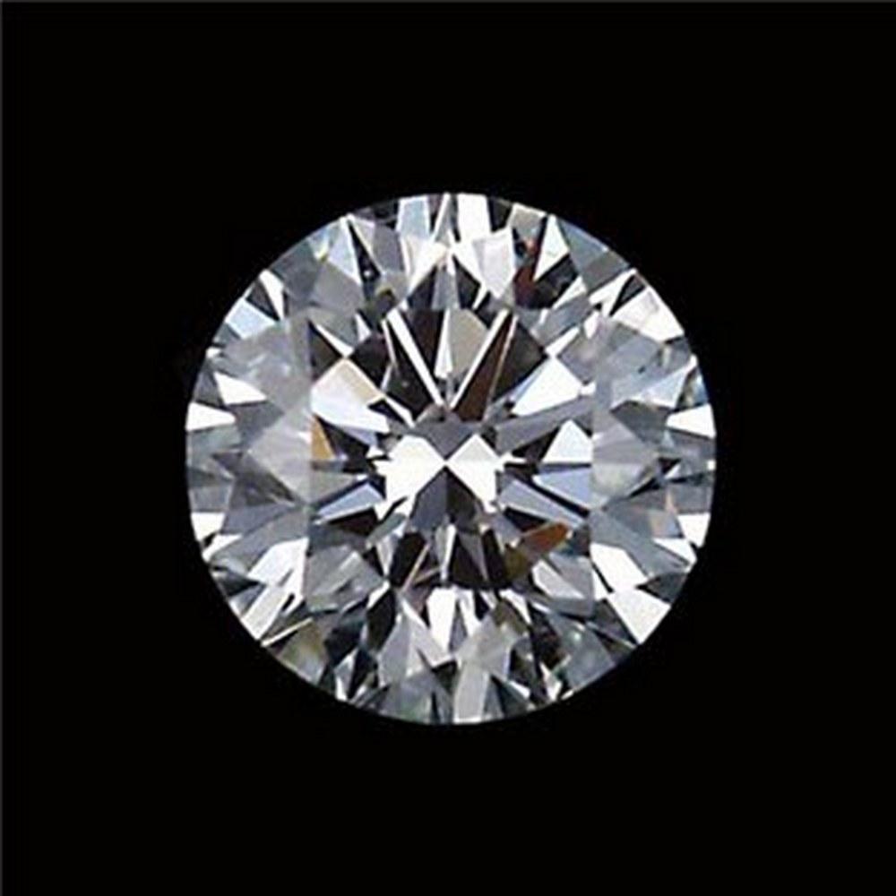 CERTIFIED IGI ROUND 0.3 CTW UV/VVS2 DIAMOND #IRS92053