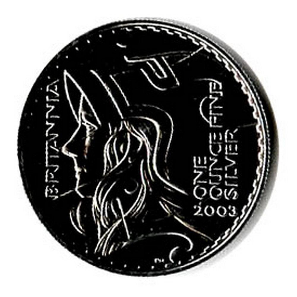 Uncirculated Silver Britannia 1 oz 2003 #IRS81469