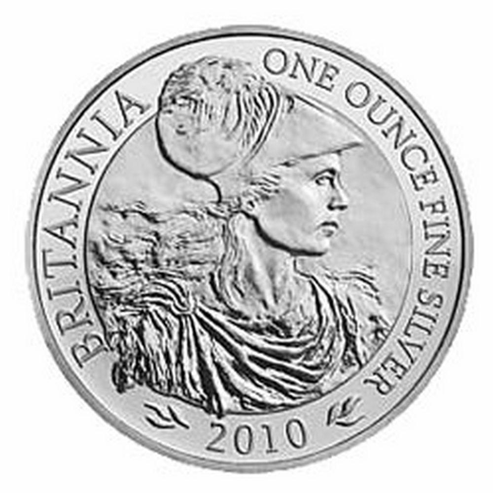 Uncirculated Silver Britannia 1 oz 2010 #IRS81464