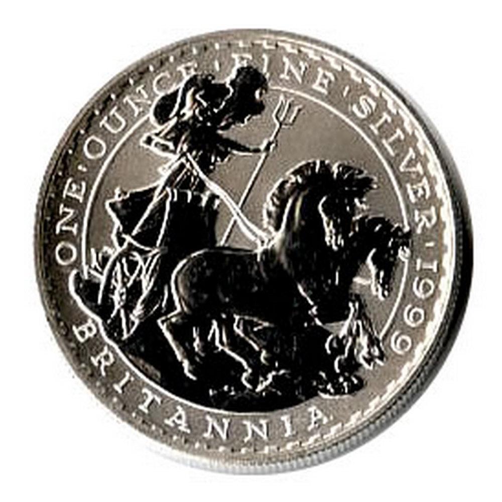 Uncirculated Silver Britannia 1 oz 1999 #IRS81360