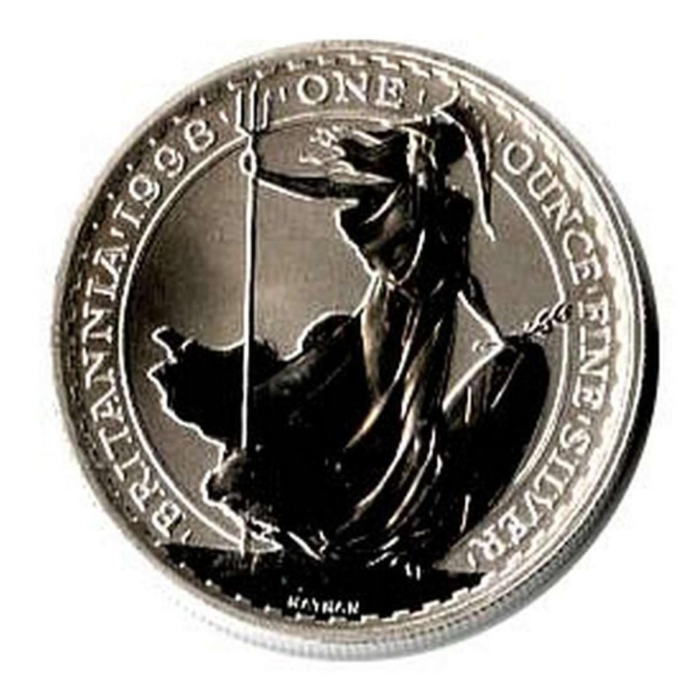 Uncirculated Silver Britannia 1 oz 1998 #IRS51175
