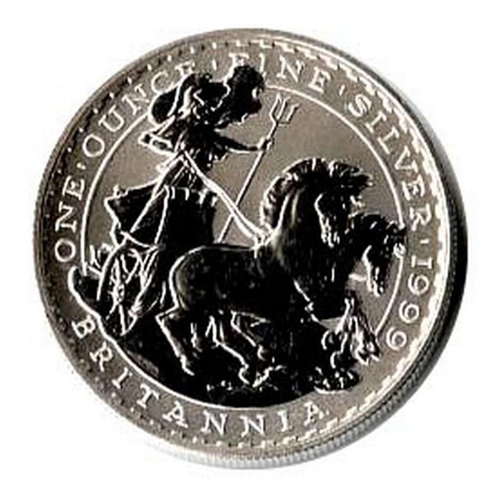 Uncirculated Silver Britannia 1 oz 1999 #IRS51177