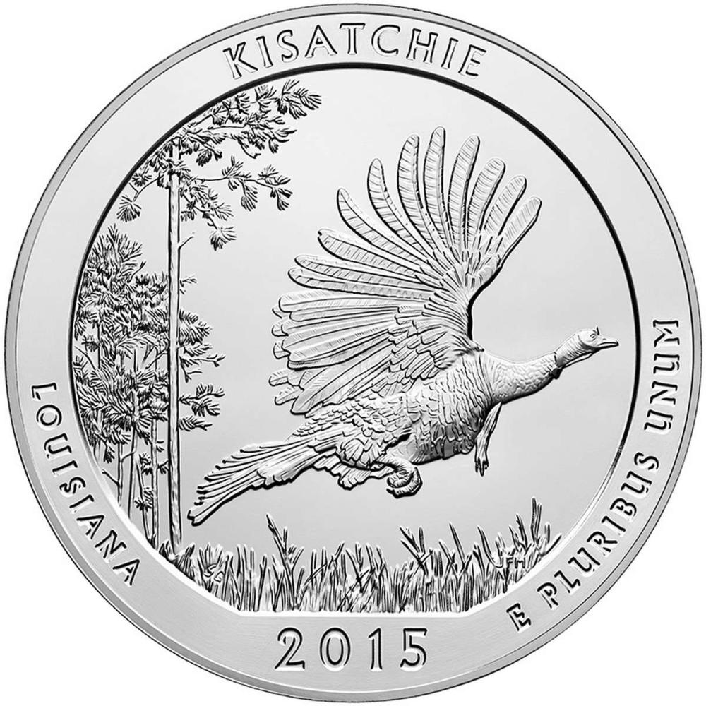 2015 Silver 5oz. Kisatchie National Forest ATB #IRS81396