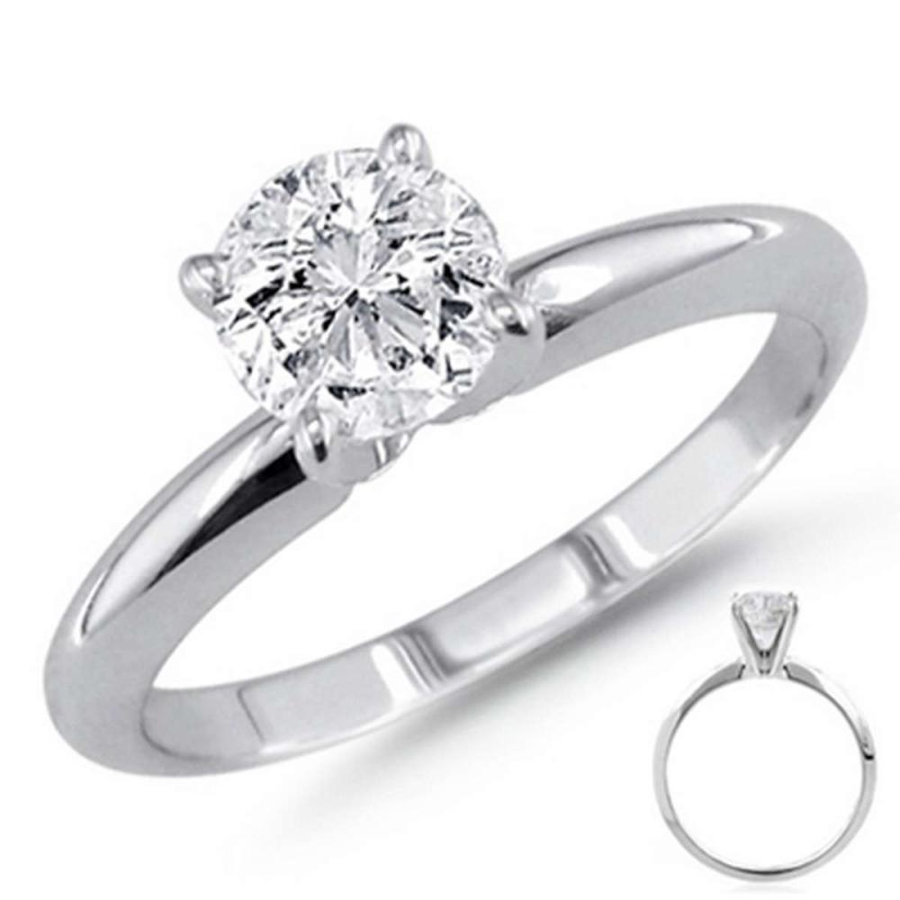 1.50 ct Round cut Diamond Solitaire Ring I-K I1-I2 #IRS85044