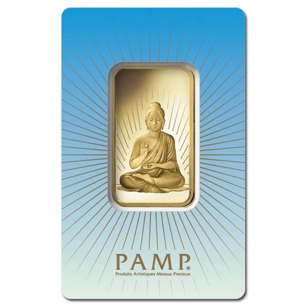 PAMP Suisse 1 Ounce Gold Bar - Buddha #IRS96470