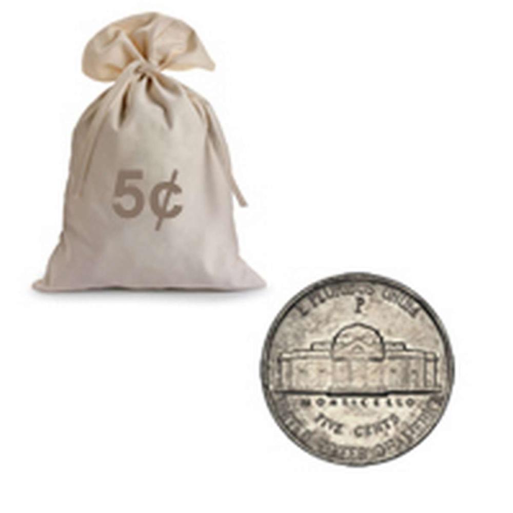 War Nickels Circulated 4000 pcs. #IRS98993