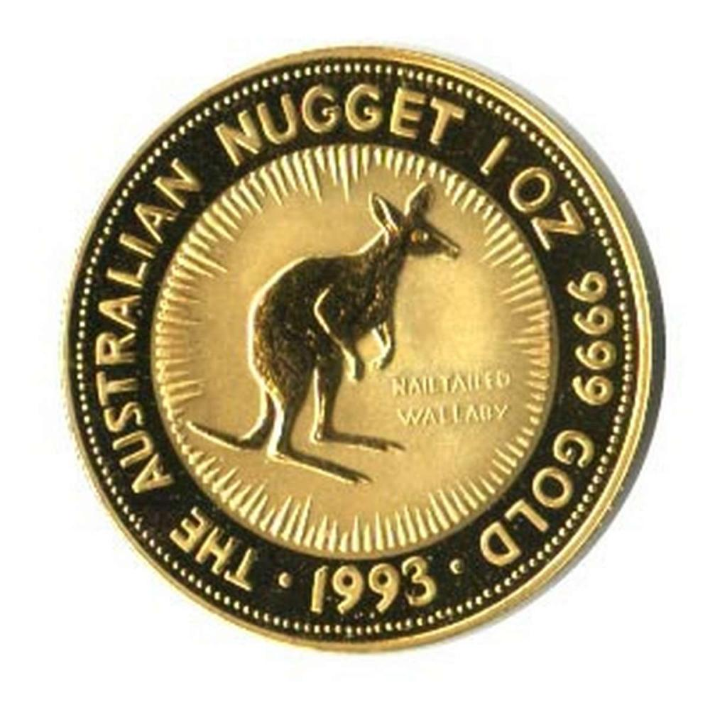 Australian Gold Nugget / Kangaroo One Ounce (dates our choice) #IRS81003
