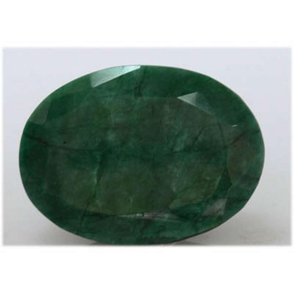 Natural 262.75 Ctw African Emerald Long Oval #IRS20636