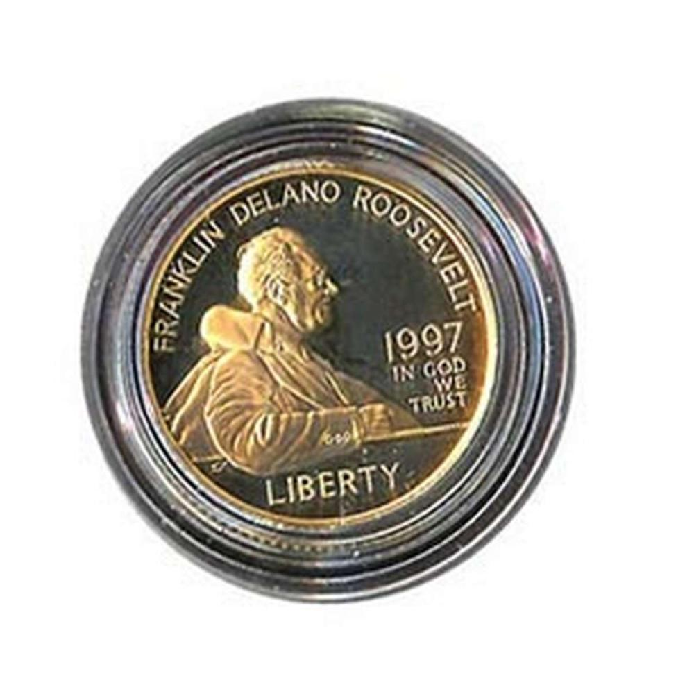 Gold $5 Commemorative 1997 FDR Proof #IRS81024