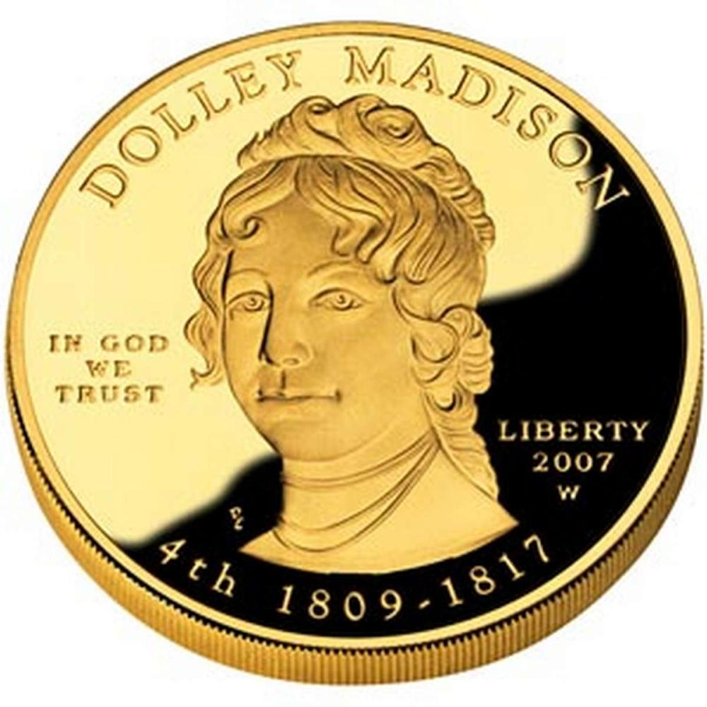 First Spouse 2007 Dolley Madison Proof #IRS81064