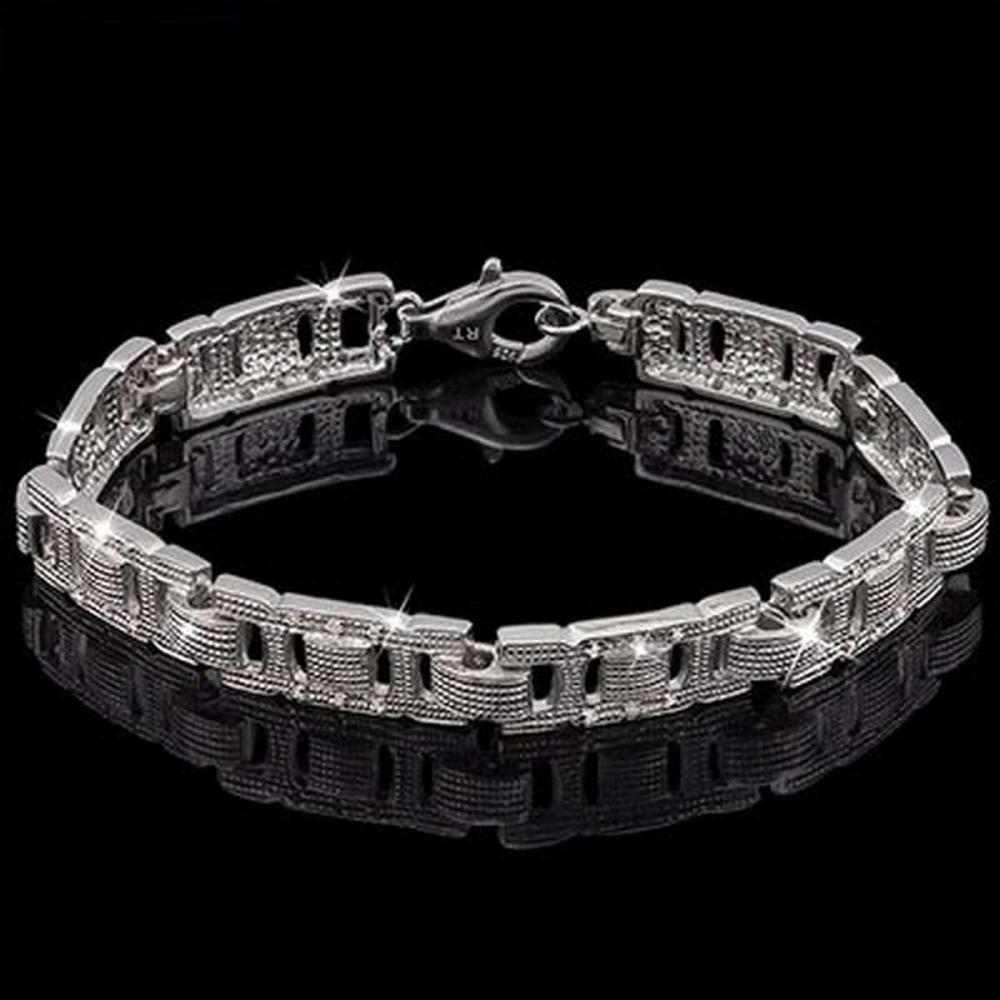 0.216 Carat Genuine Daimond 925 Silver Bracelet #IRS91147