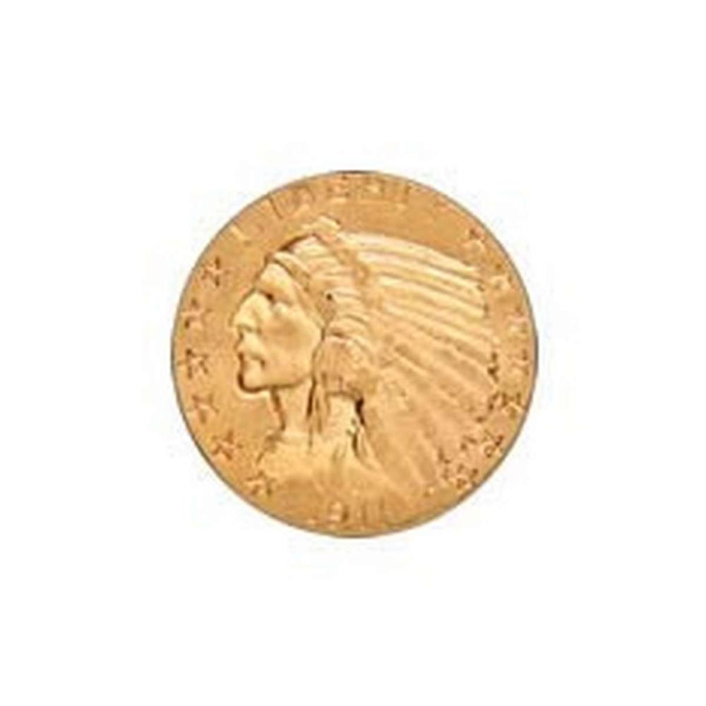 Early Gold Bullion $5 Indian Extra Fine #IRS81079