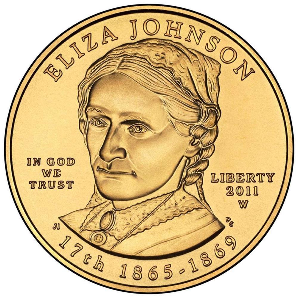 First Spouse 2011-W Eliza Johnson Uncirculated #IRS81052