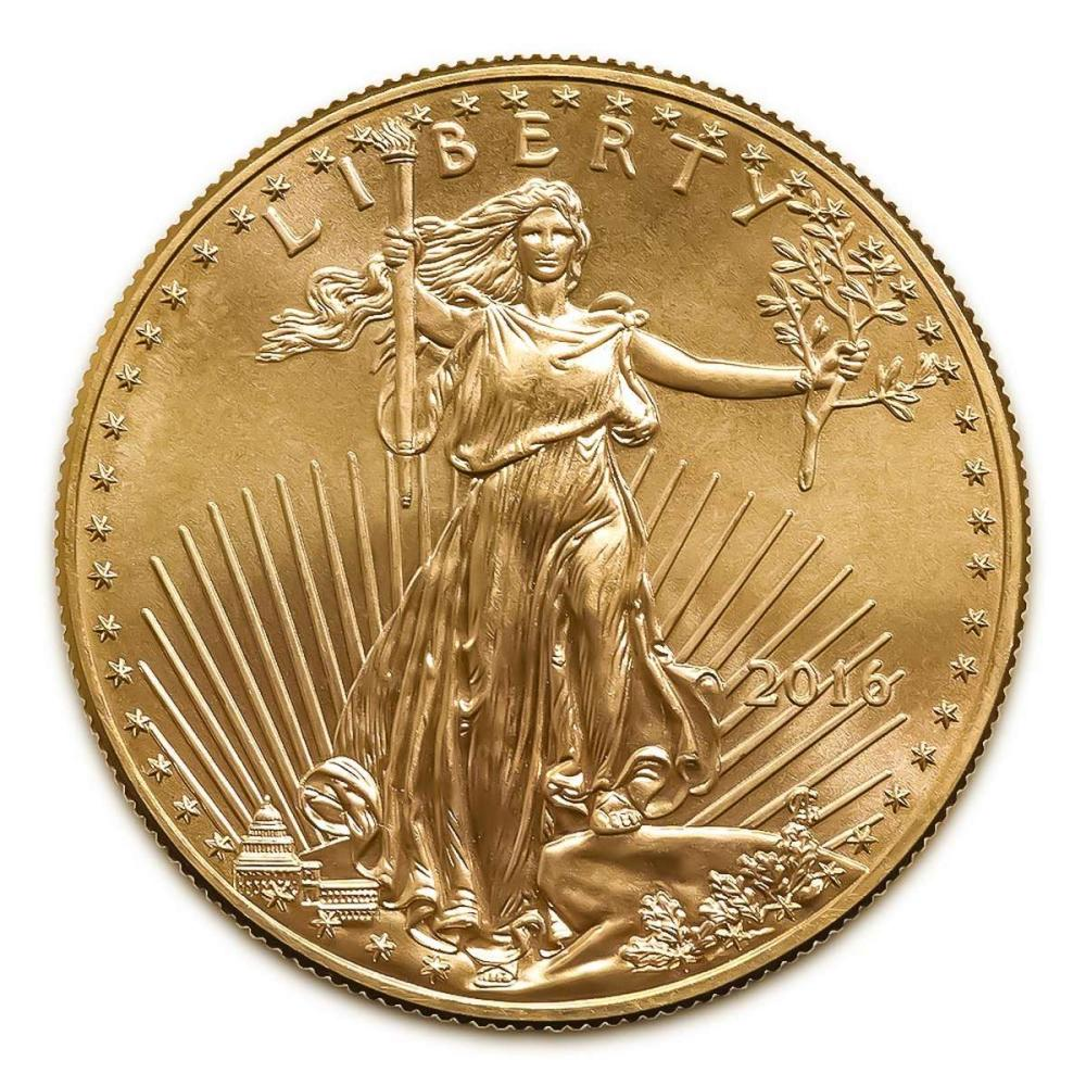 2016 American Gold Eagle 1 oz Uncirculated #IRS94911