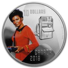 2016 Canada 1/2 oz Silver Proof $10 Star Trek Uhura #75395v3