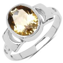 8.60 Carat Genuine Citrine .925 Sterling Silver Set #77544v3
