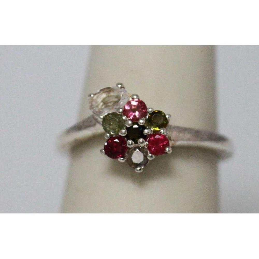 0.75 CTW SEMIPRECIOUS RING .925 STERLING SILVER #IRS47295