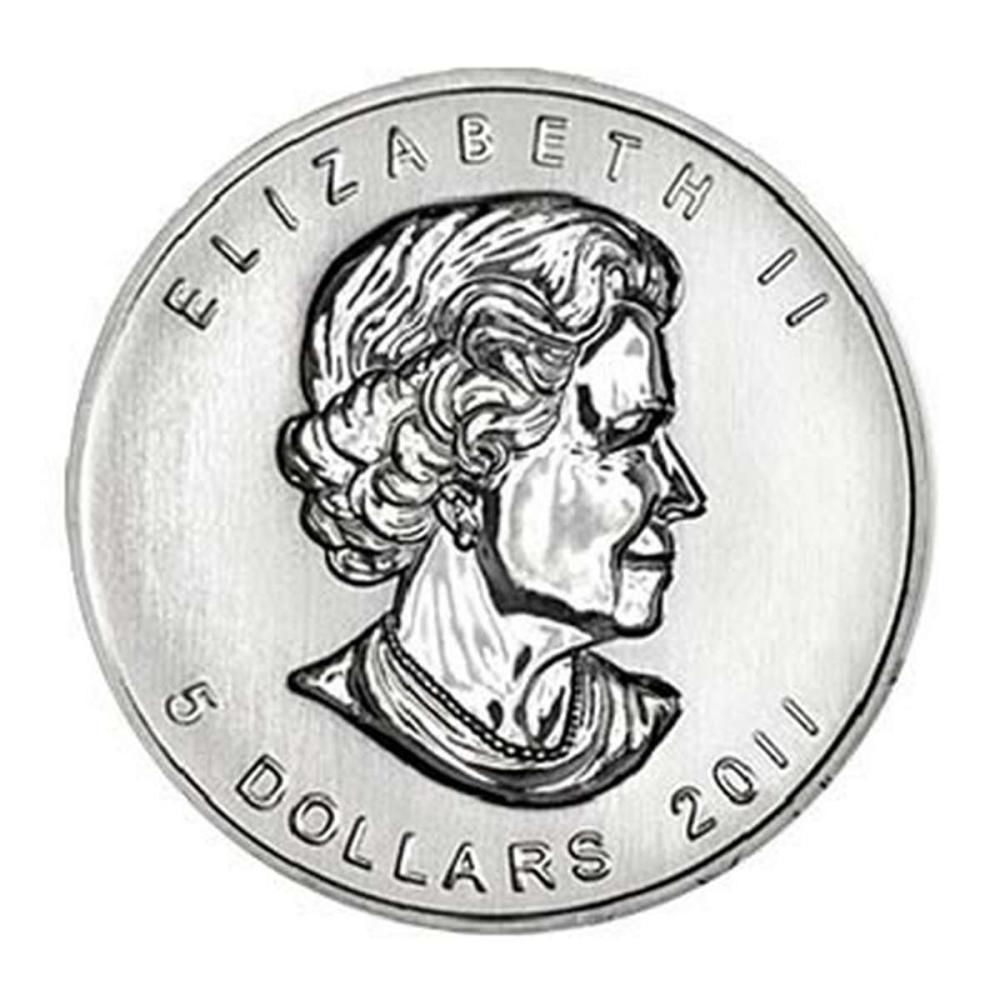 2011 Silver Maple Leaf 1 oz Uncirculated #IRS58015