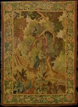 Aubusson style tapestry.