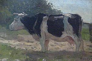 VAN INGEN, Hendrick Alexander (1846-1920) Paysage
