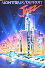 JAZZ MONTREAUX DETROIT by GARY CICCARELLI 1983