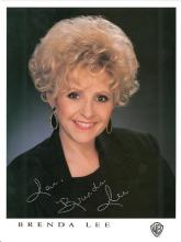 BRENDA LEE SIGNED 8 X 10 PHOTOGRAPH (W/A SILVER PEN)