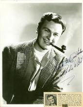 EDDIE ALBERT SIGNED 8 X 10 PHOTOGRAPH