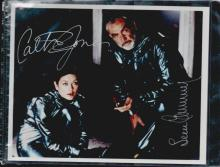 SEAN CONNERY & CATHRINE JONES SIGNED 8 X 10 PHOTOGRAPH