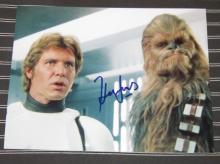 HARRISON FORD SIGNED STAR WARS 8 X 10 PHOTOGRAPH